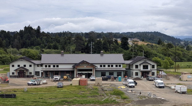 Community Center Under Construction